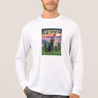 T-shirt Labrador (noir)