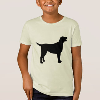 T-Shirt Labrador retriever (dans le noir)