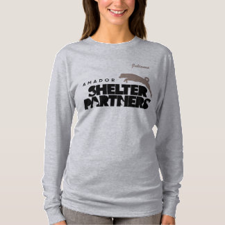 T-shirt L'ABRI Partners le nom de coutume d'habillement de