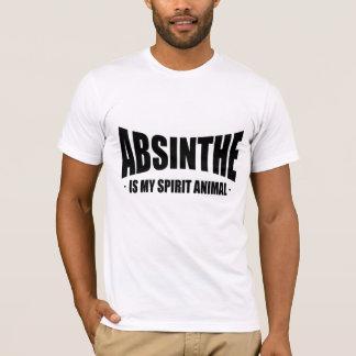 T-shirt L'absinthe est mon animal d'esprit