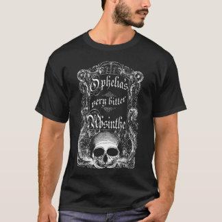 T-shirt L'absinthe très amère d'Ophélie
