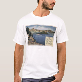 T-shirt Lac crater, Orégon - observation