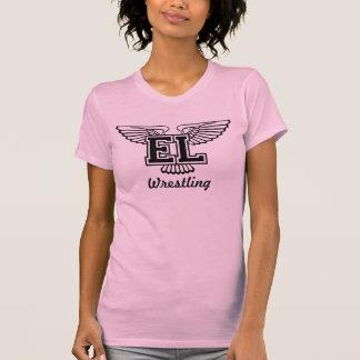 T-shirt Lac est luttant - femme