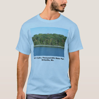 T-shirt Lac Forrest, mille stat de collines…