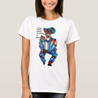 T-shirt L'accordéoniste