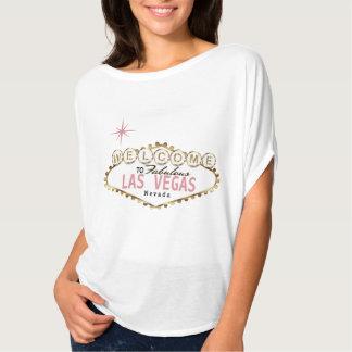 T-shirt L'accueil vers Las Vegas fabuleux s'est levé