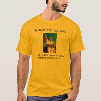 T-shirt Lacrosse. d'aumôniers de Serra