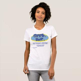 T-shirt Ladies'pièce en t comique de Geek, Inc. Jersey
