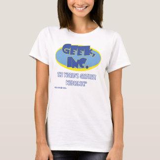 T-shirt Ladies'pièce en t de Geek, Inc.
