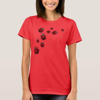 T-shirt Ladybird Shirt Tee de chemise de la coccinelle des