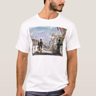 T-shirt Lafayette et la garde nationale par Ken Riley