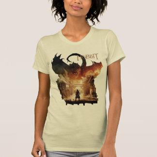 T-shirt L'affiche de film de Hobbit - de Laketown
