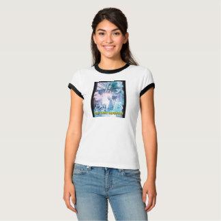 T-shirt L'affiche révélatrice de fer avec des jess