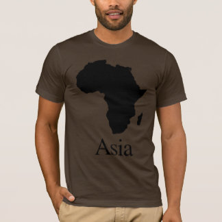 T-shirt L'Afrique Asie