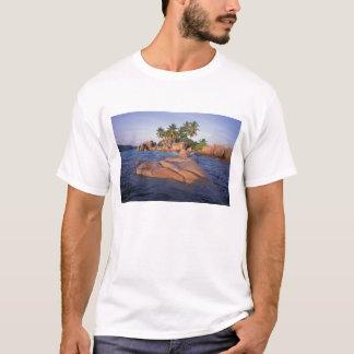 T-shirt L'Afrique, l'Océan Indien, Seychelles, Praslin