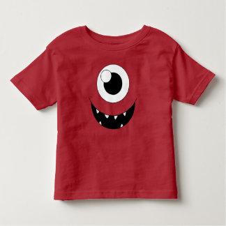 T-shirt laid de monstre