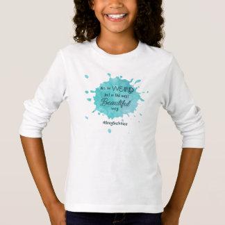 T-shirt L'aide élèvent le mouvement au #BringBackNice !