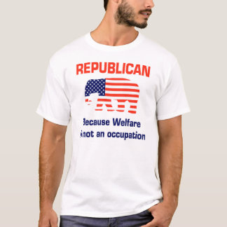 T-shirt L'aide sociale n'est pas une profession