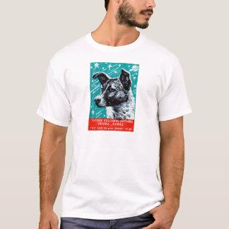 T-shirt Laika 1957 le chien de l'espace