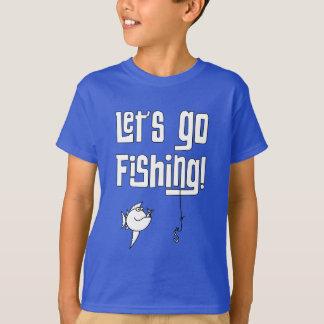 T-shirt Laisse aller pêcher !