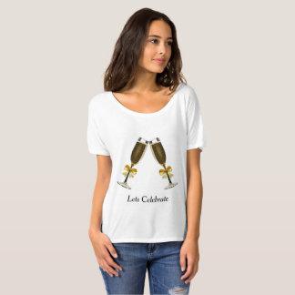 T-shirt - laisse célébrer