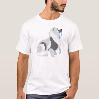 T-shirt Laisse de Keeshond