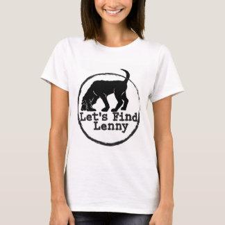 T-shirt Laisse la découverte Lenny