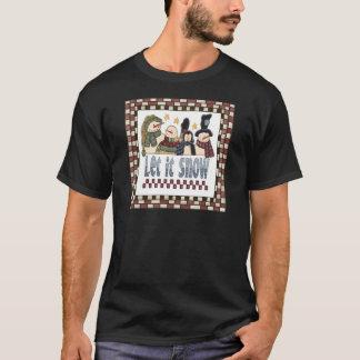 T-shirt Laissez lui neiger