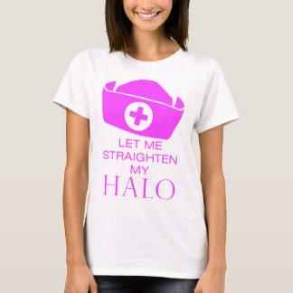 T-shirt Laissez-moi redresser mon halo