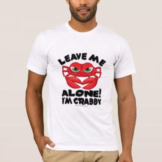 T-shirt Laissez-moi seul moi suis désagréable
