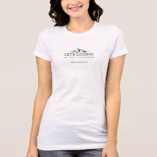 T-shirt Laissez-nous salon