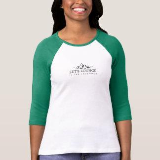T-shirt Laissez-nous salon avec le #Back