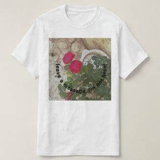 T-shirt laissez un message