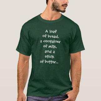 T-shirt lait