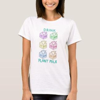 T-shirt Lait d'usine de boissons