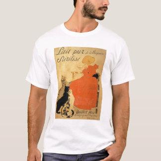 """T-shirt """"Lait stérilisé pur de La Vingeanne"""", 1894 (Co"""