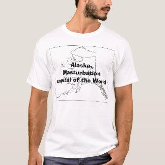 T-shirt L'Alaska, capital de masturbation du monde