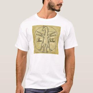 T-shirt Lama da Vinci