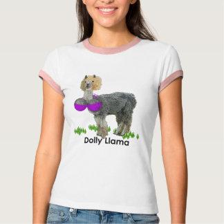 T-shirt Lama de chariot