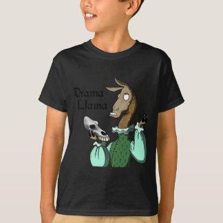 T-shirt Lama de drame