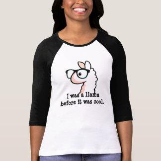 T-shirt Lama de hippie