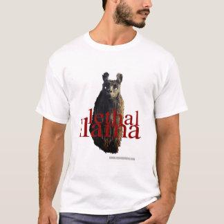 T-shirt lama mortel