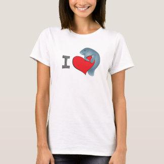 T-shirt Lamantins du coeur I