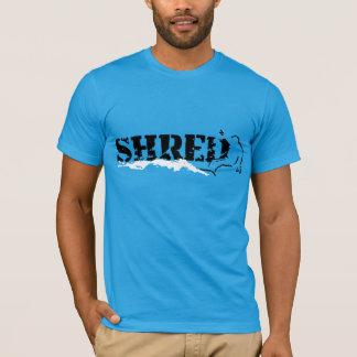 T-shirt lambeau. b&w.
