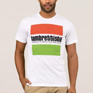 T-shirt Lambrettista tricolore