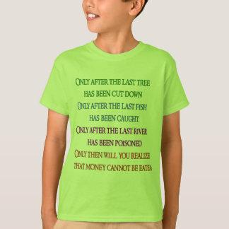T-shirt Lament de planète