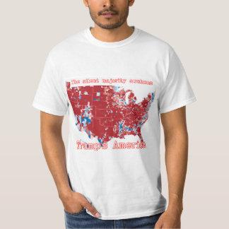 T-shirt L'Amérique de l'atout : La majorité silencieuse