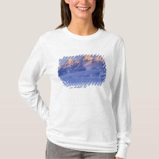 T-shirt L'Amérique du Nord, Etats-Unis, Wyoming, Teton