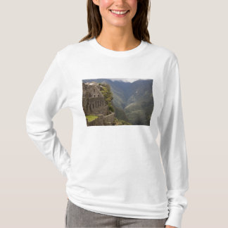 T-shirt L'Amérique du Sud, Pérou, Machu Picchu. Ruines de