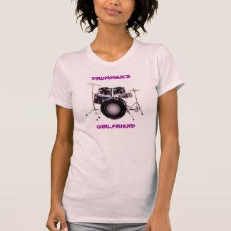 T-shirt L'amie du batteur